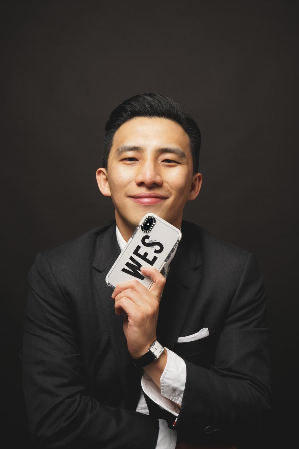 CEO and co-founder Wes Ng changed the phone case game forever