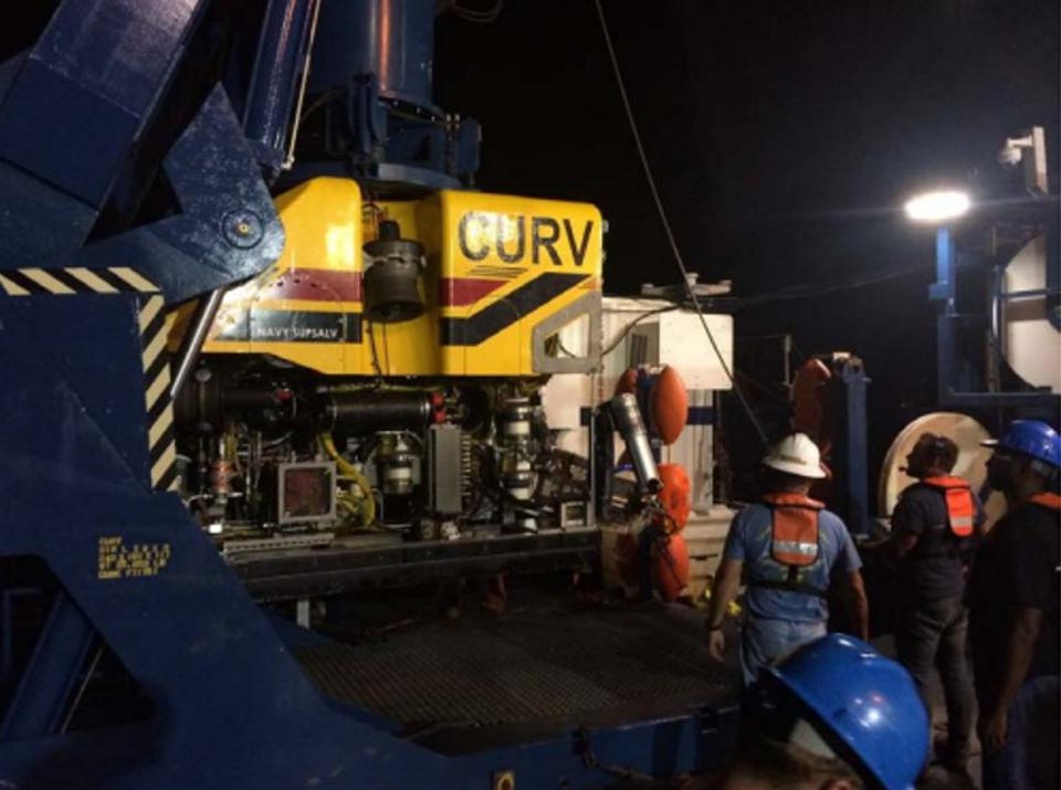 The use of the deep sea rover, the CURV, helped identify and retrieve El Faro's VDR