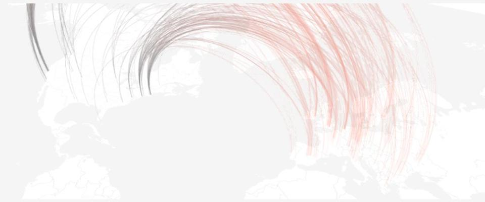 map of European expansion of U.S B2B SaaS startups.