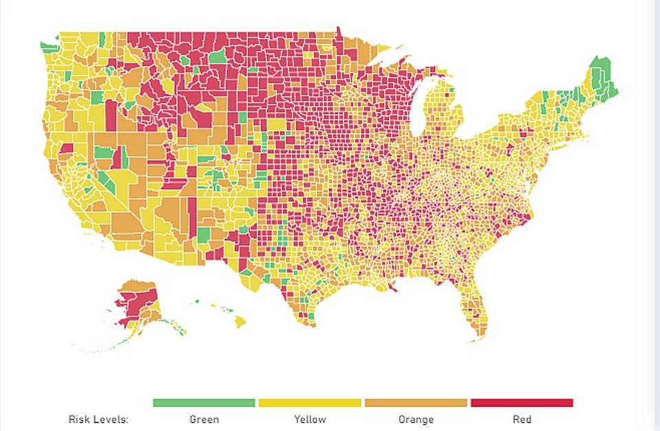 Covid-19 rising in USA