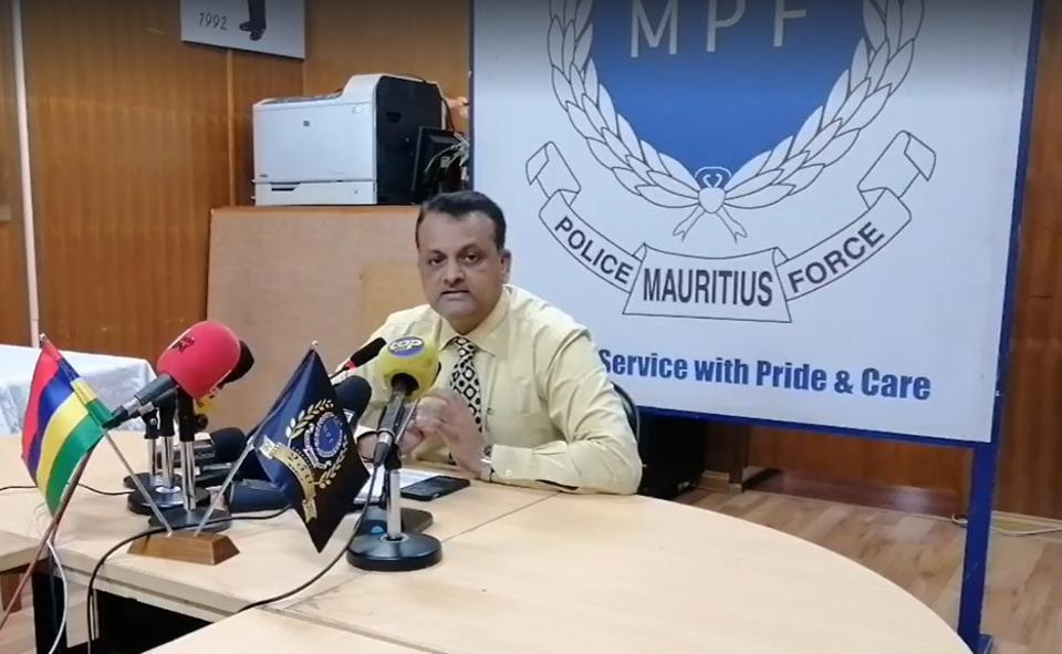 The Mauritius Police Force Press Conference on 7 October 2020 in capital city Port Louis that revealed the Coastguard's messages were not heard on the Wakashio's VDR, but did not reveal whether the crew were distracted with an engine malfunction.