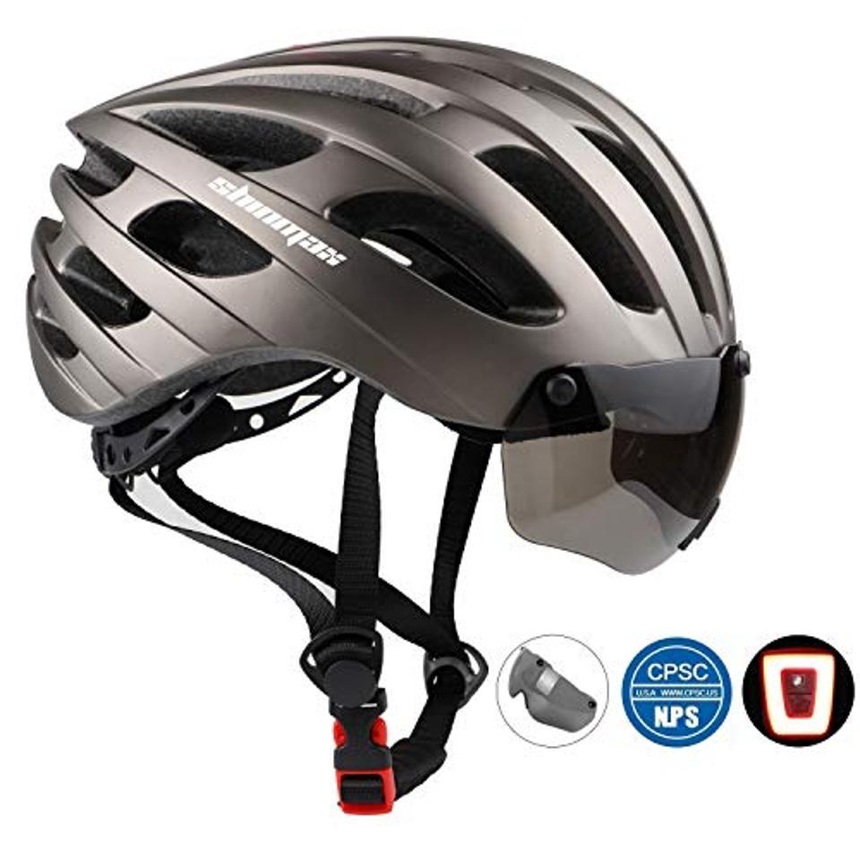 A bike helmet.