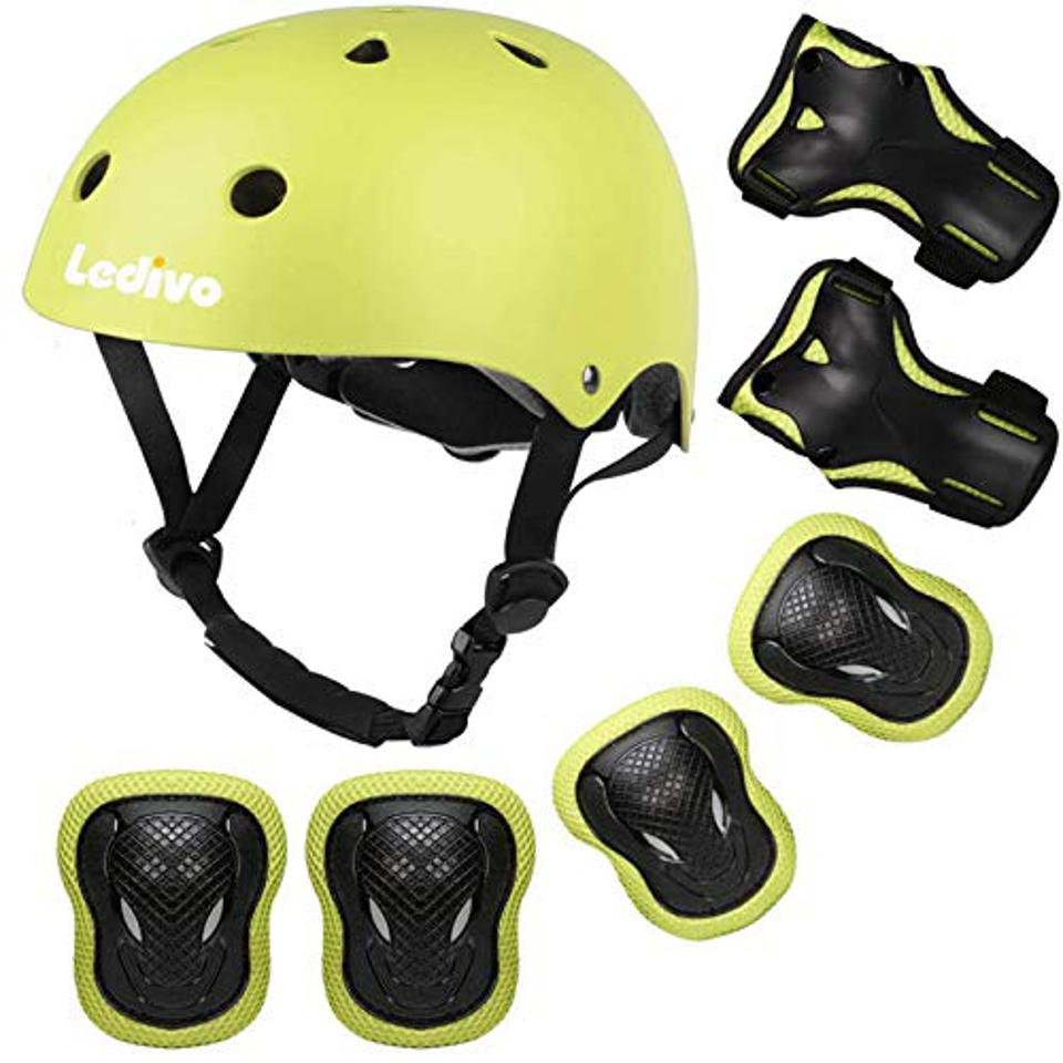 A kids helmet.