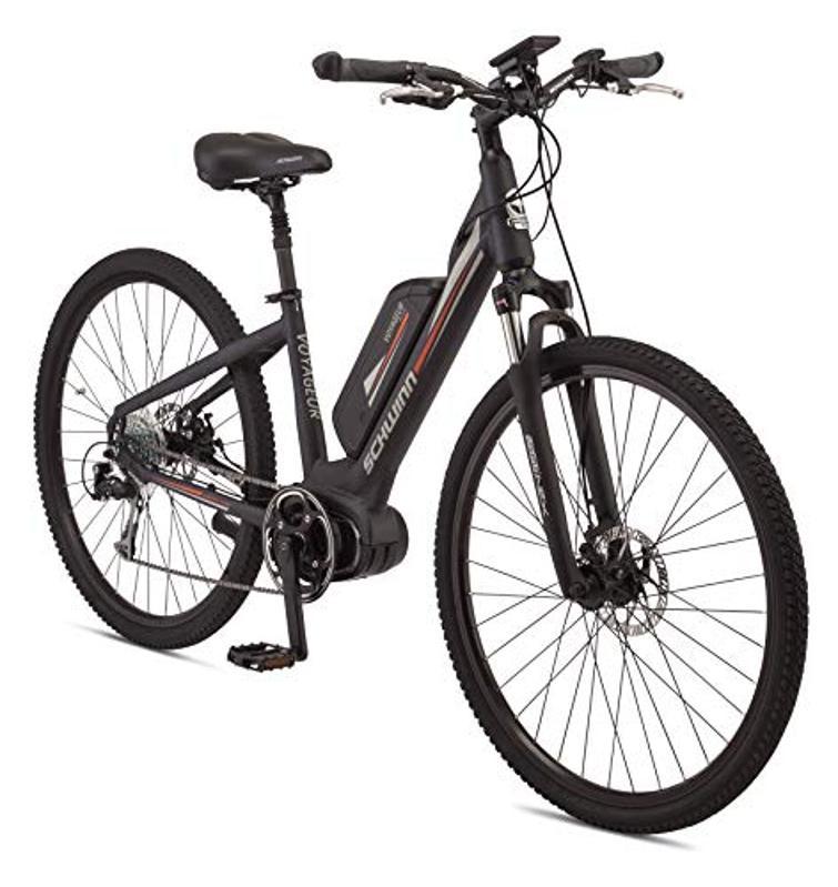 An e-bike.