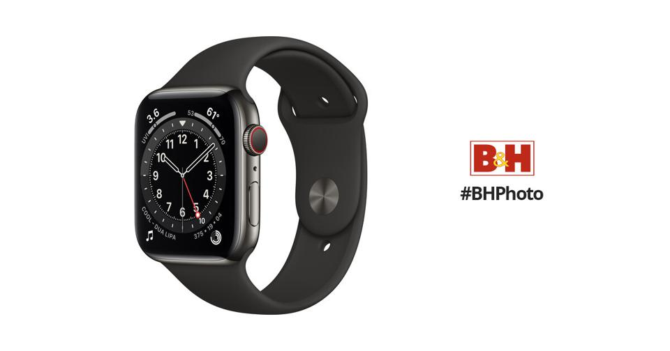 The Apple Watch Series 6  is on sale at B&H for Prime Day.