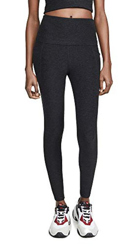 Amazon Prime Day Beyond Yoga Women's Spacedye Out of Pocket High Waisted Midi Leggings