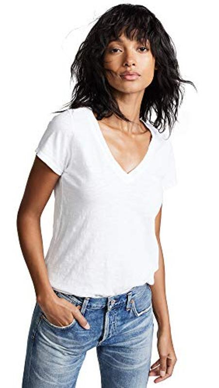 Amazon Prime Day Velvet Women's Jilian V Neck Tee