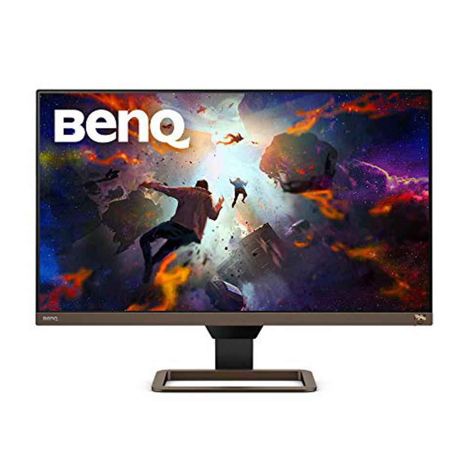 Prime Day gaming monitor deals BenQ EW2780U 27 inch 4K Monitor | IPS Multimedia with HDMI connectivity | HDR