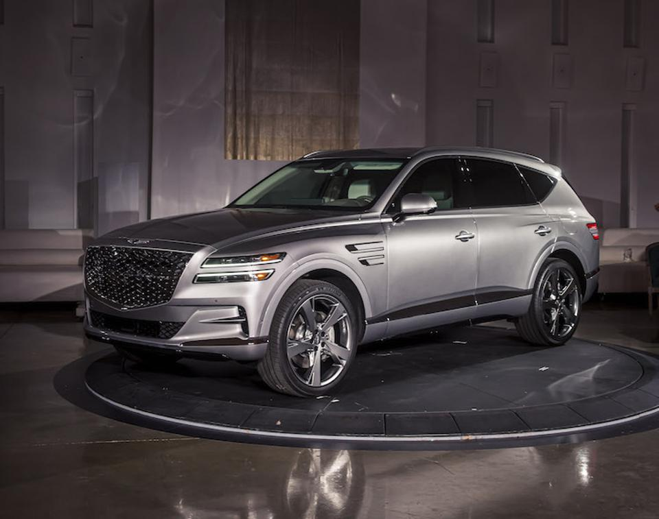 The GV80 is the first SUV for the Genesis brand.