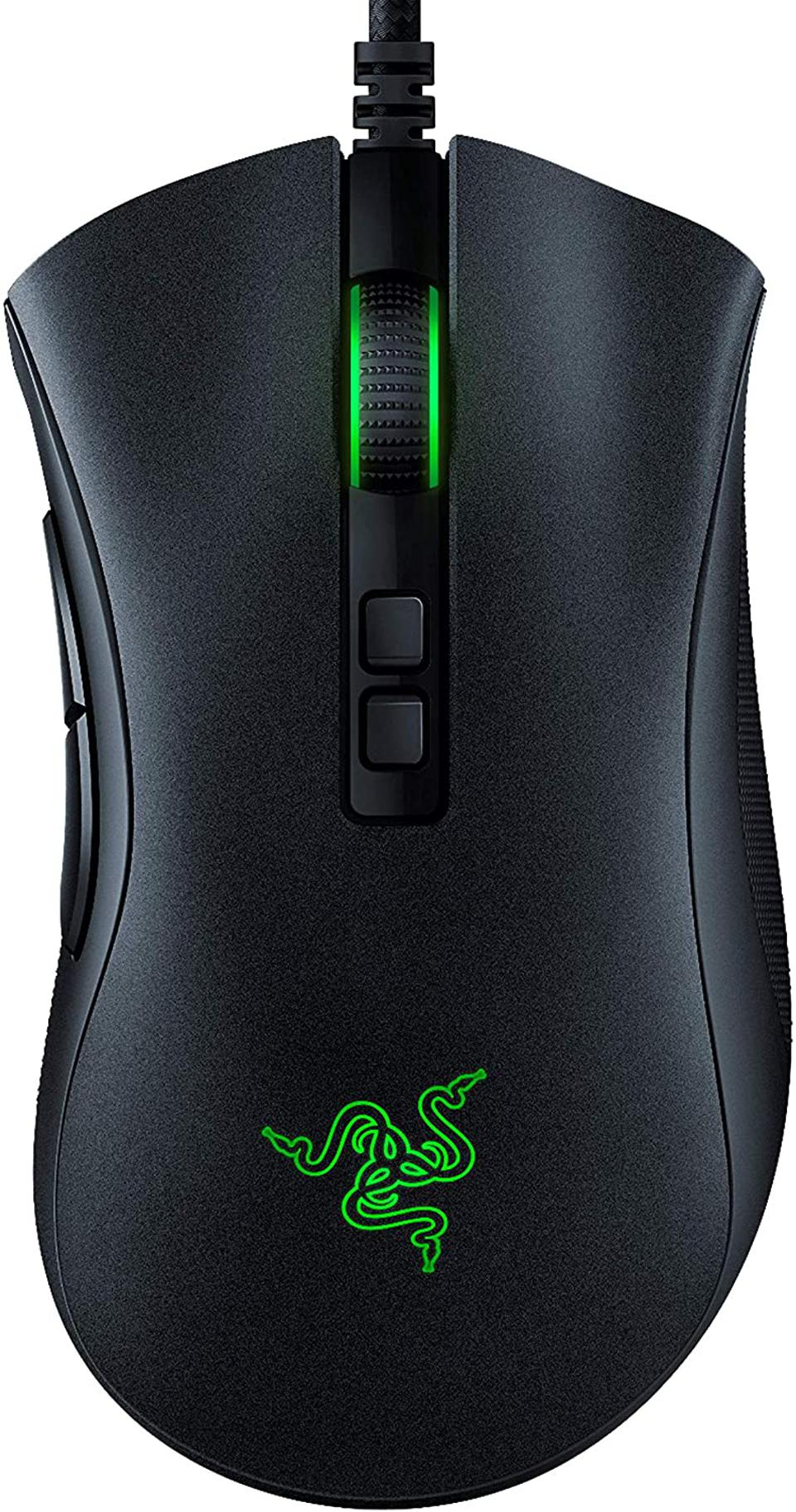 prime day gaming mouse deals Razer DeathAdder v2 Gaming Mouse: 20K DPI Optical Sensor