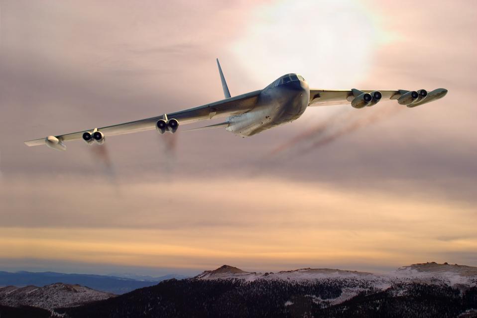 B-52 In The Clouds