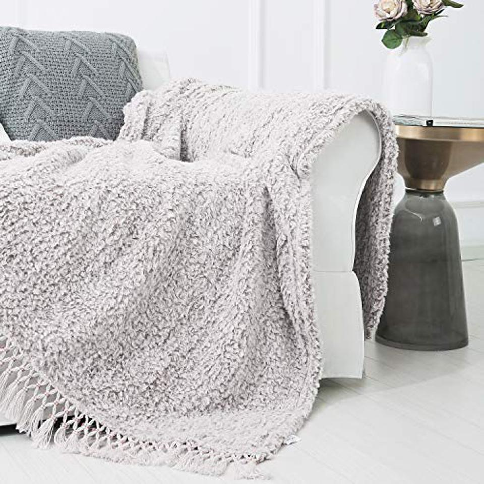 Prime Day deal Sedona House Textured Throw Blanket