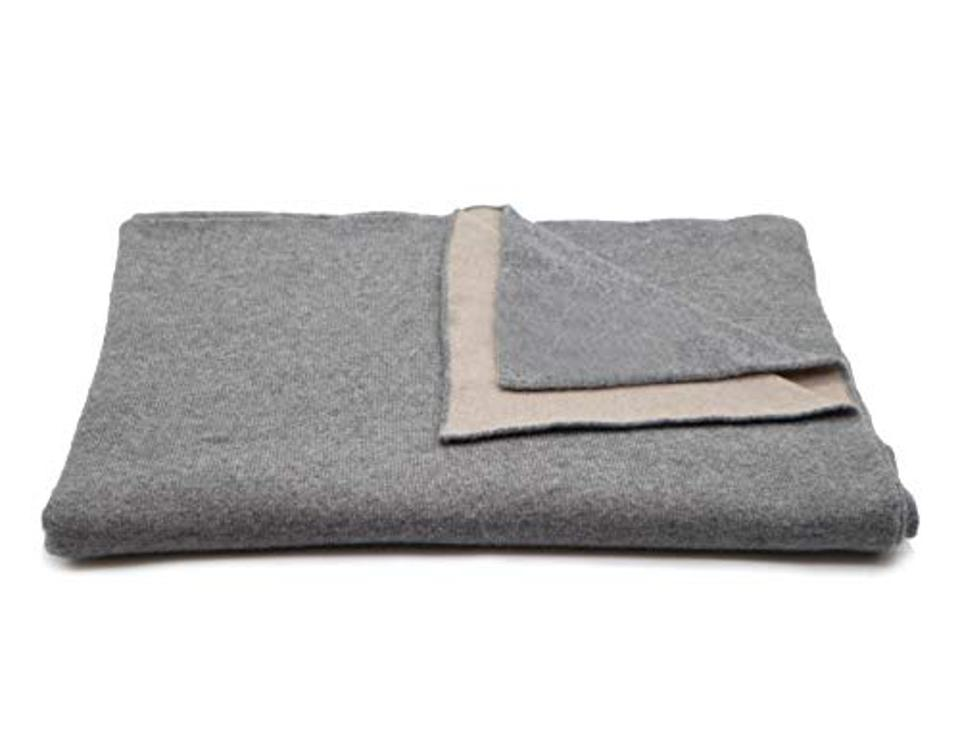 prime day deal State Cashmere Reversible Throw Blanket