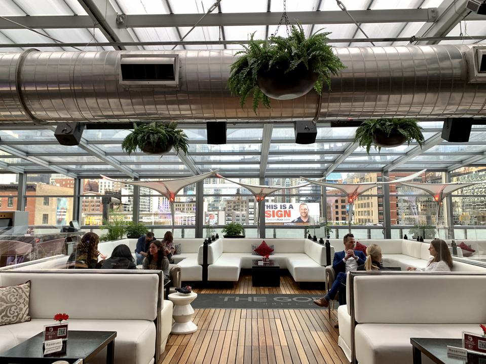 I|O Godfrey rooftop lounge, Chicago