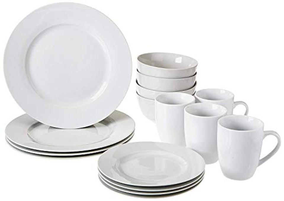 Amazon Prime Day kitchen deals: white plate set