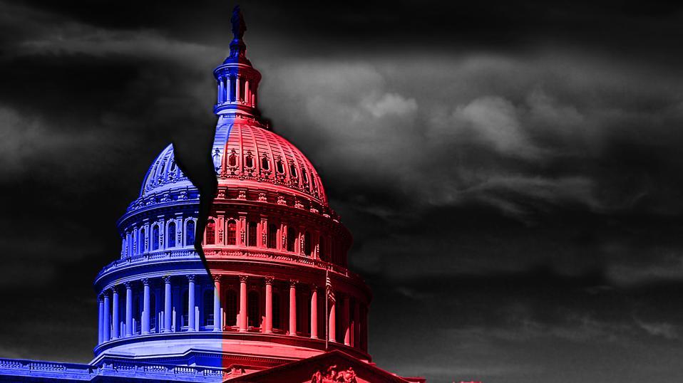 Washington DC capitol divided politics