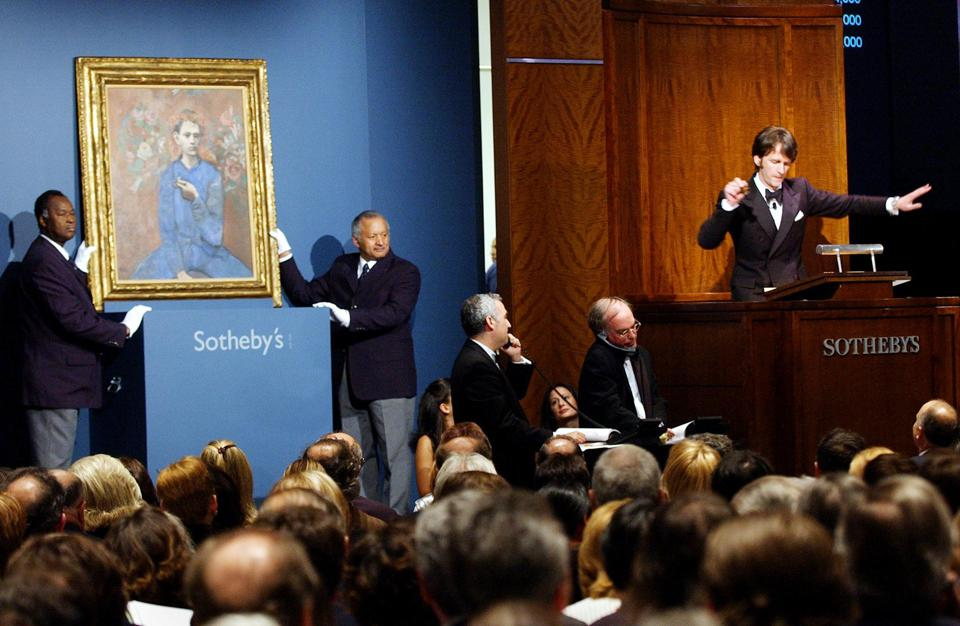 US-SOTHEBY'S-PICASSO SALE-01