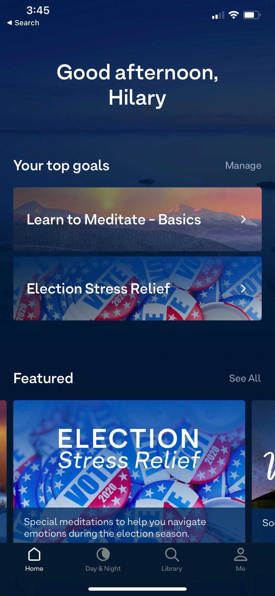 The Election Stress App