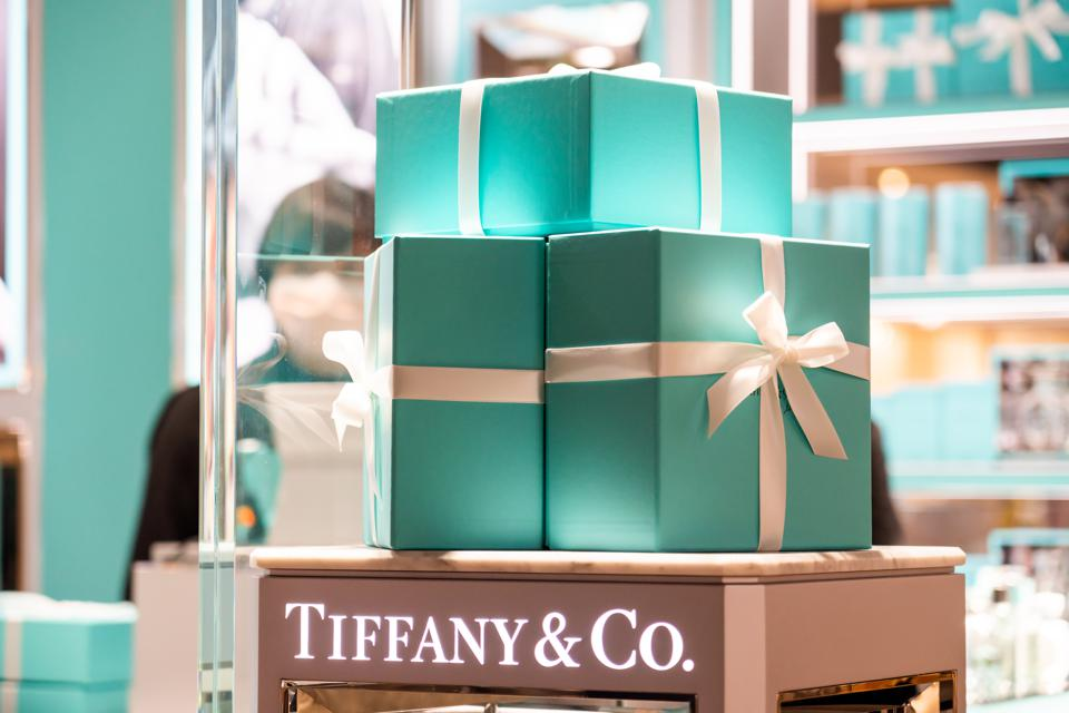 American luxury jewellery and speciality retailer Tiffany &...