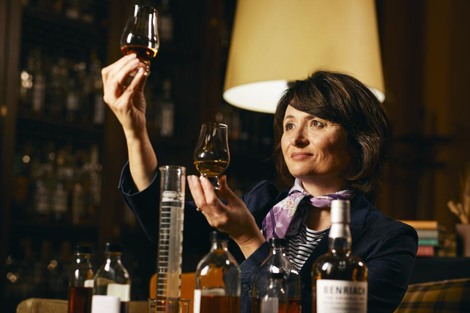 Rachel Barrie scotch whisky Benriach Glendronach Glenglassaugh single malt