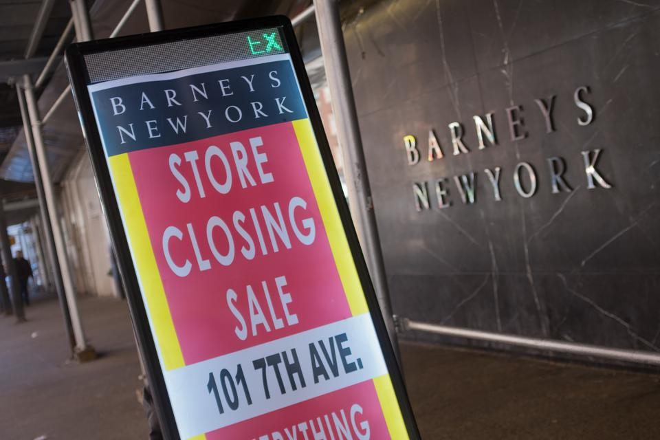 Barneys Closing Down
