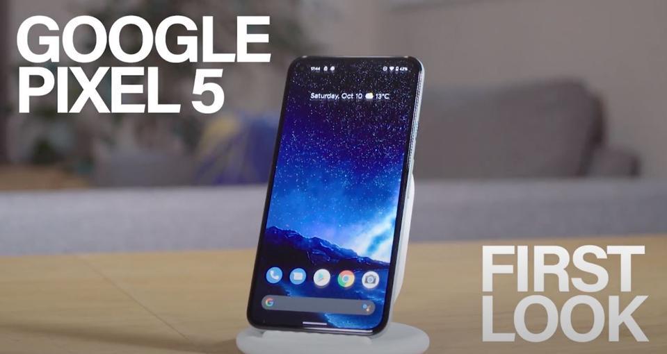 This is Google's Pixel 5.