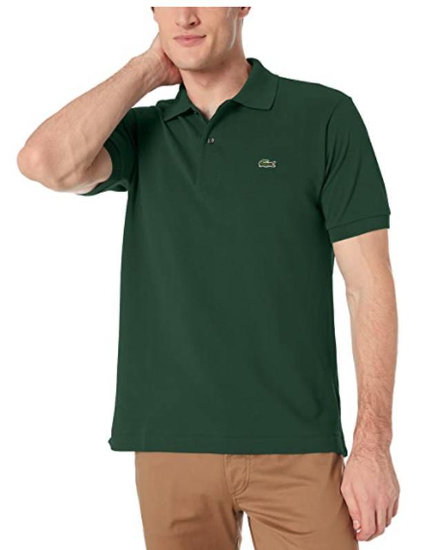 Amazon prime Day Lacoste Men's Short Sleeve Pique Polo Shirt