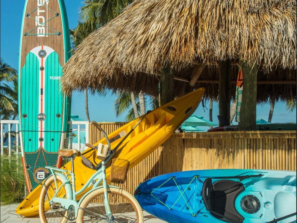 Watersports and biking are Key Largo favorites