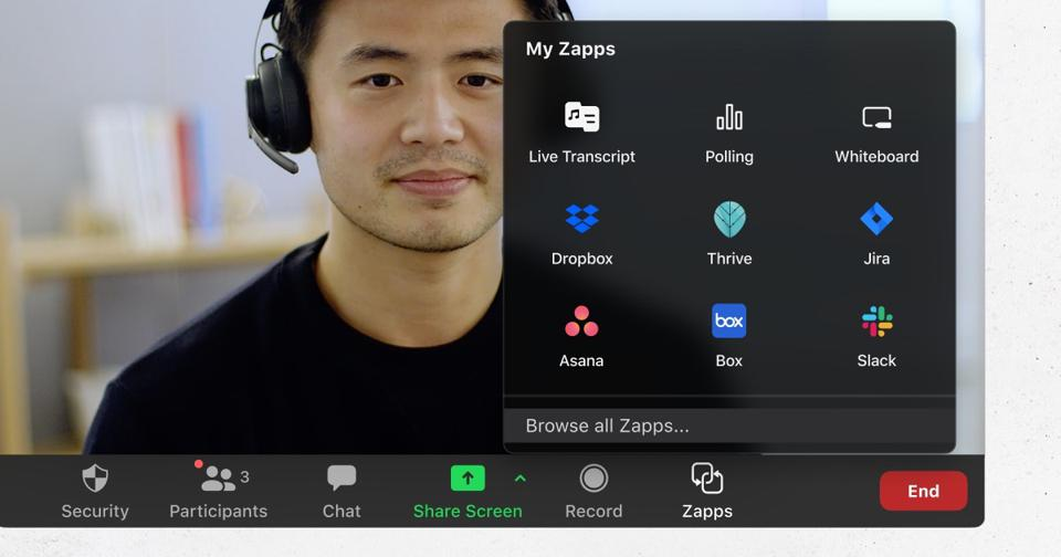 Zoom launches Zapps