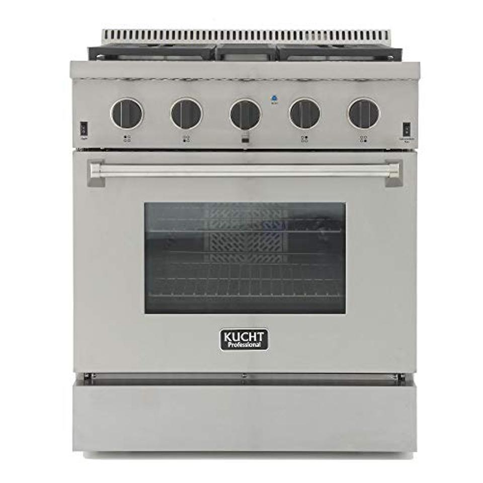 Amazon Prime Day Kucht KRD306F-K Professional 30″ 4.2 cu. ft. Dual Fuel Range for Natural Gas