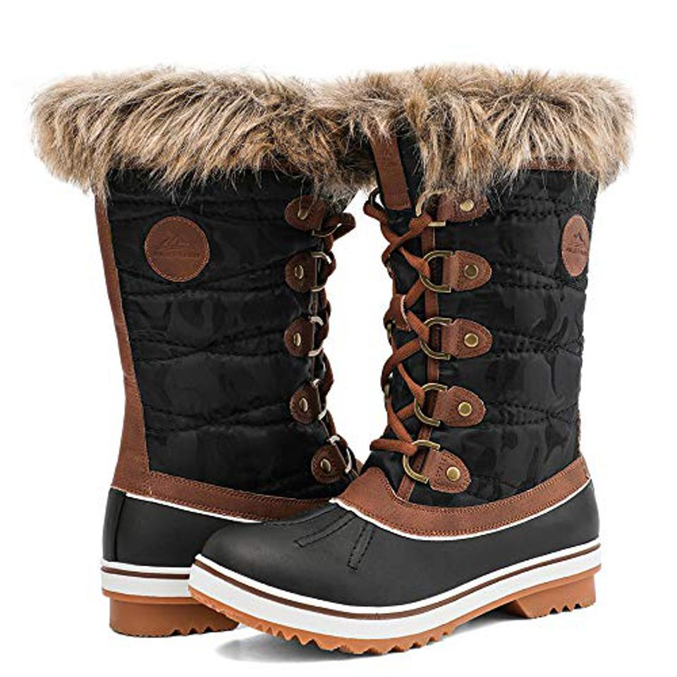botas de nieve para mujer