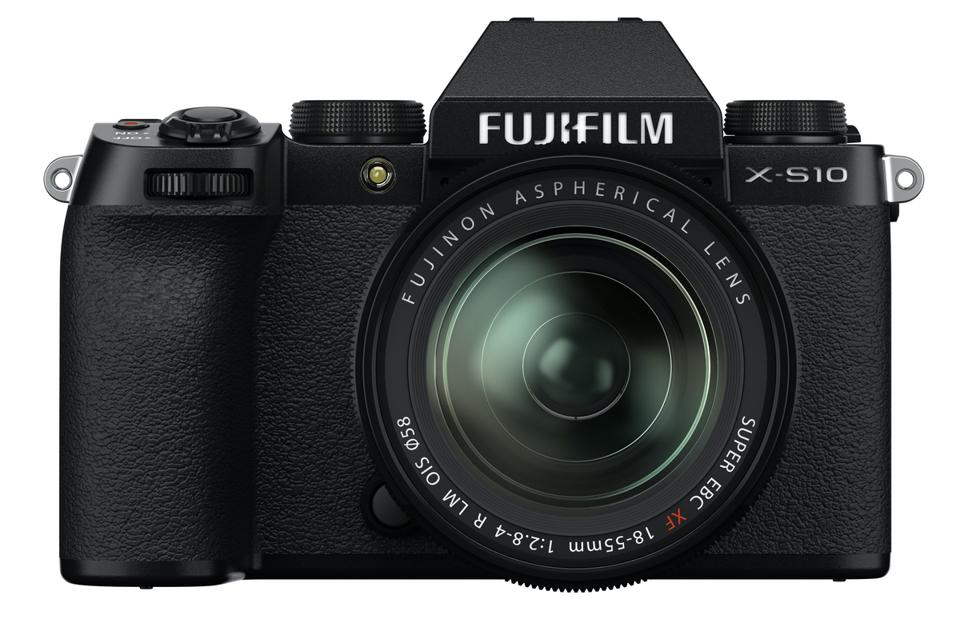 Front view of Fujifilm X-S10