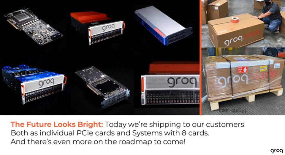 Figure 3: Groq, the startup founded by Google TPU inventors, is sampling its AI platform to select customers.
