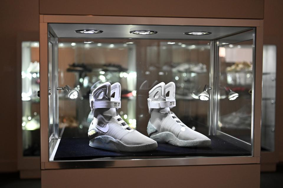 Sotheby's Auctions ″The Ultimate Sneaker Collection″ In New York City