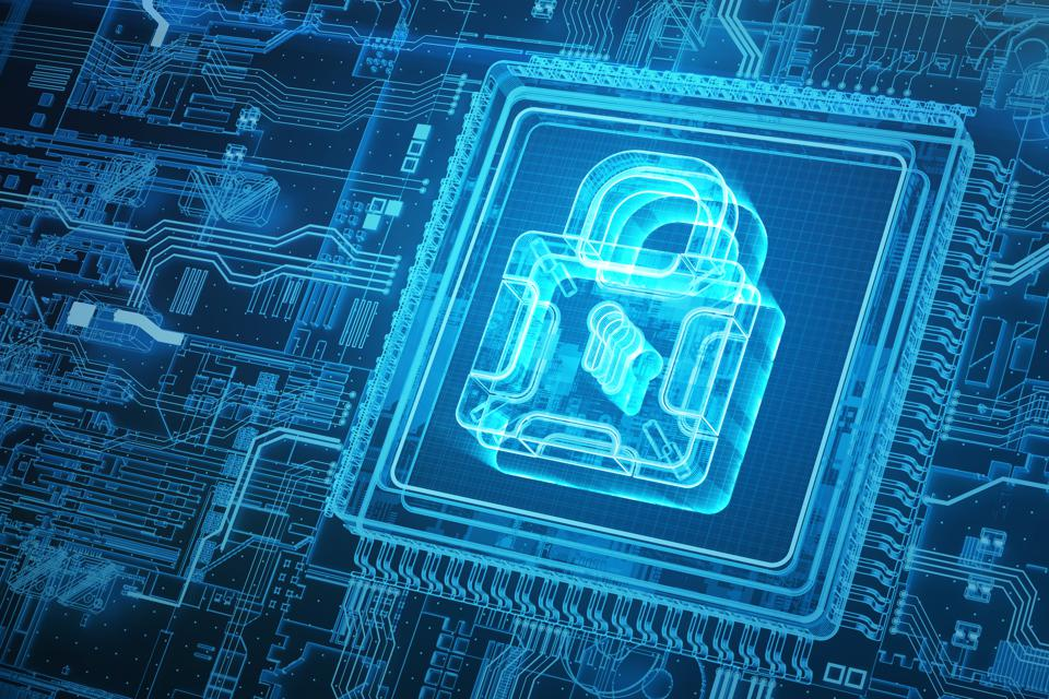 Hologram security lock and circuit board