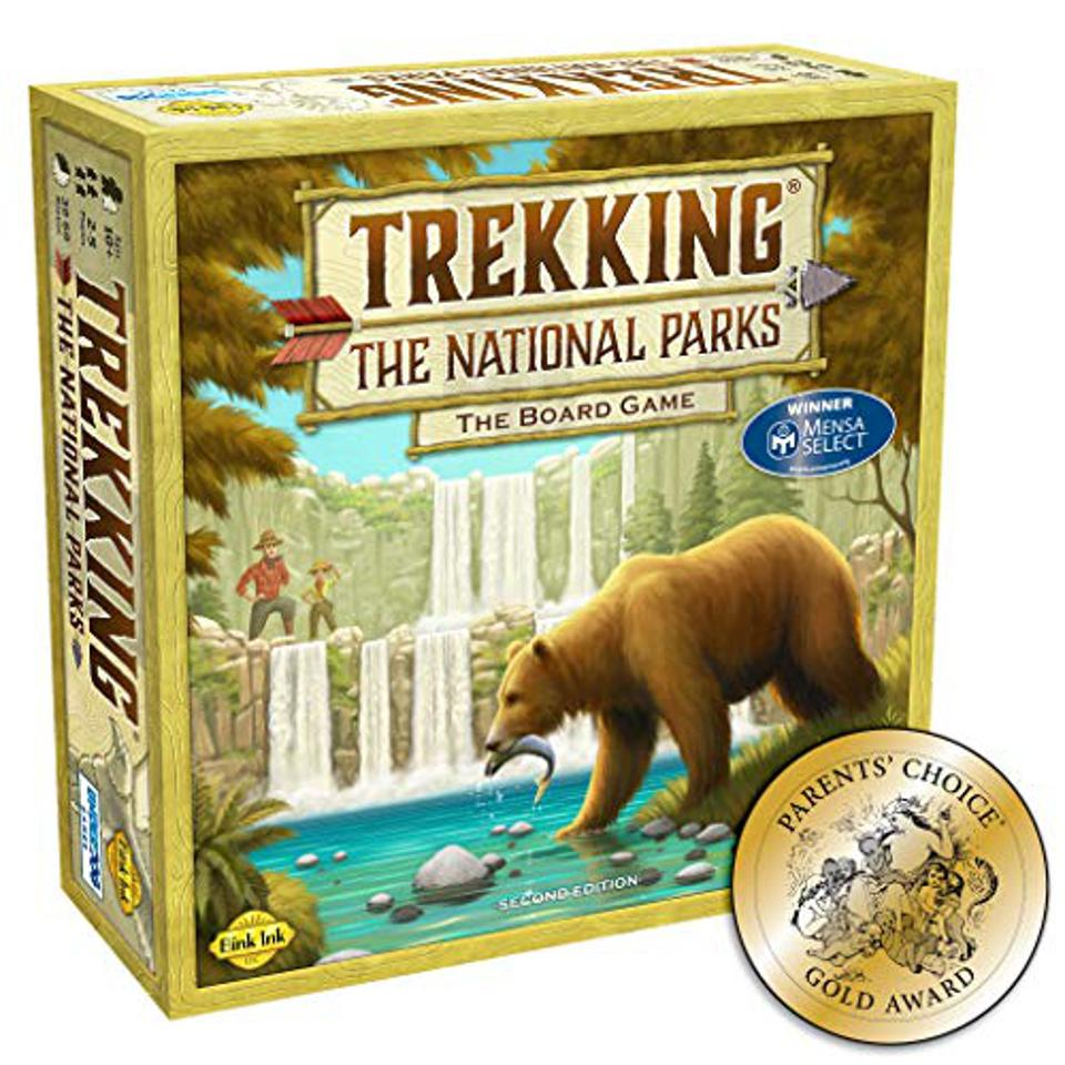 Trekking The National Parks: The Award-Winning Family Board Game