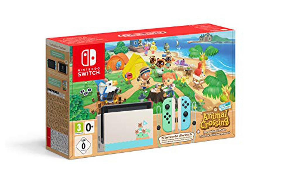 Nintendo Switch - Animal Crossing: New Horizons Edition - Switch - UK Version