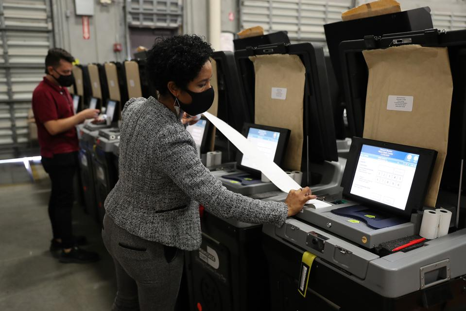 Miami-Dade County Tests Voting Machines