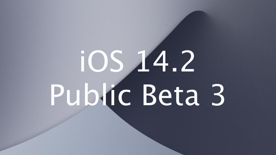 iOS 14.2 Public Beta 3