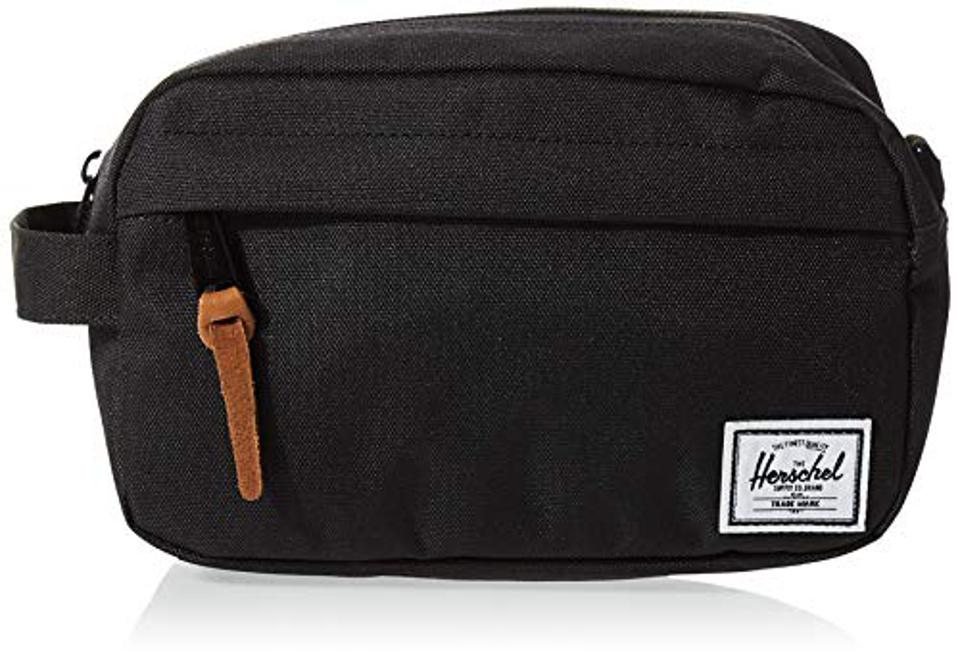 Prime Day Offer Herschel 10347-00001-OS Chapter Toiletry Kit, Black, 3L Cabin Luggage