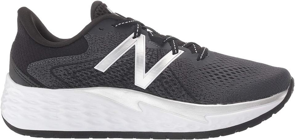 New Balance Fresh Foam Evare V1 Women's Running Shoes, Black / Metallic Silver, 6 M US