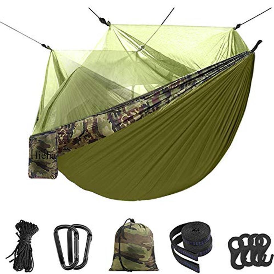 Double camping hammock Hieha
