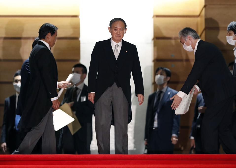 Japan's New Prime Minister Suga Names Cabinet Members