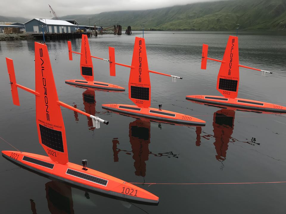 Autonomous marine surveillance craft like Silicon Valley based Saildrone can capture 1.6 million times more data points than the techniques proposed by the Japanese scientsist