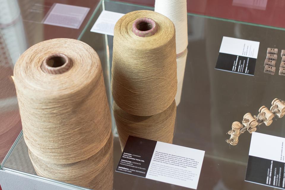 Cork-A-Tex Yarn spool.