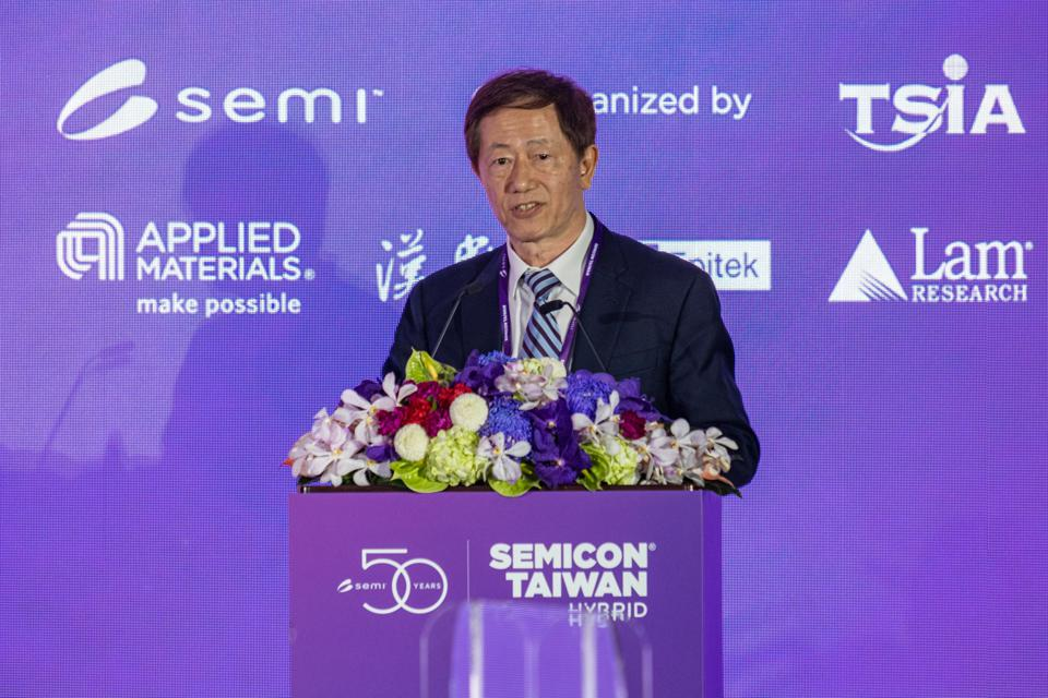 Mark Lui, executive chairman at TSMC (Taiwan Semiconductor...