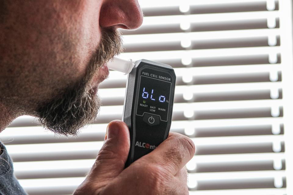 Alcohol breathalyzers are portable and easy to be contained within vessels.  A training program and protocol had been established for the crew to follow.