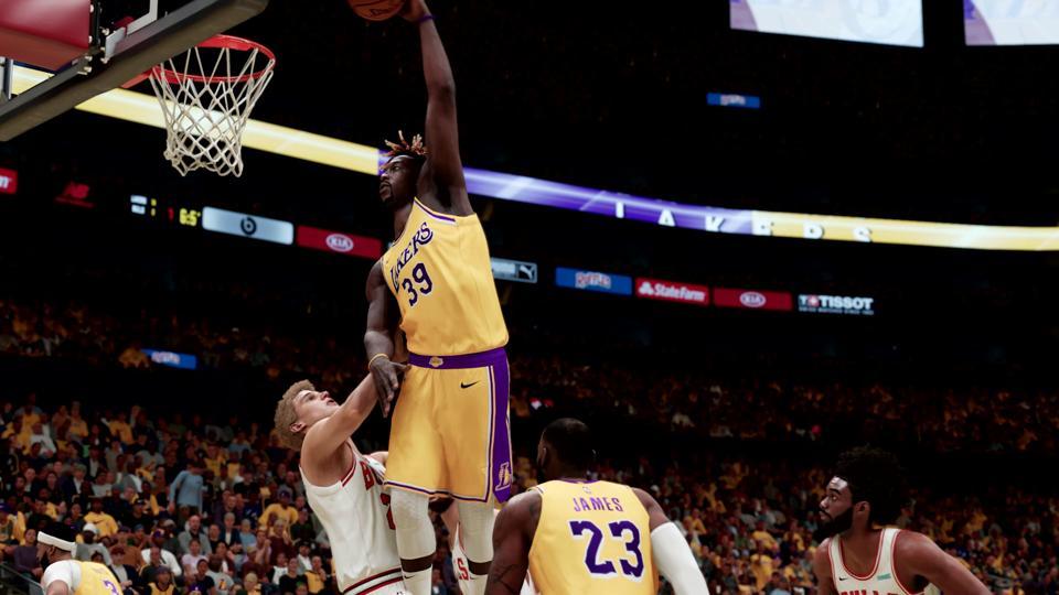 NBA 2K21 Next-Gen gameplay