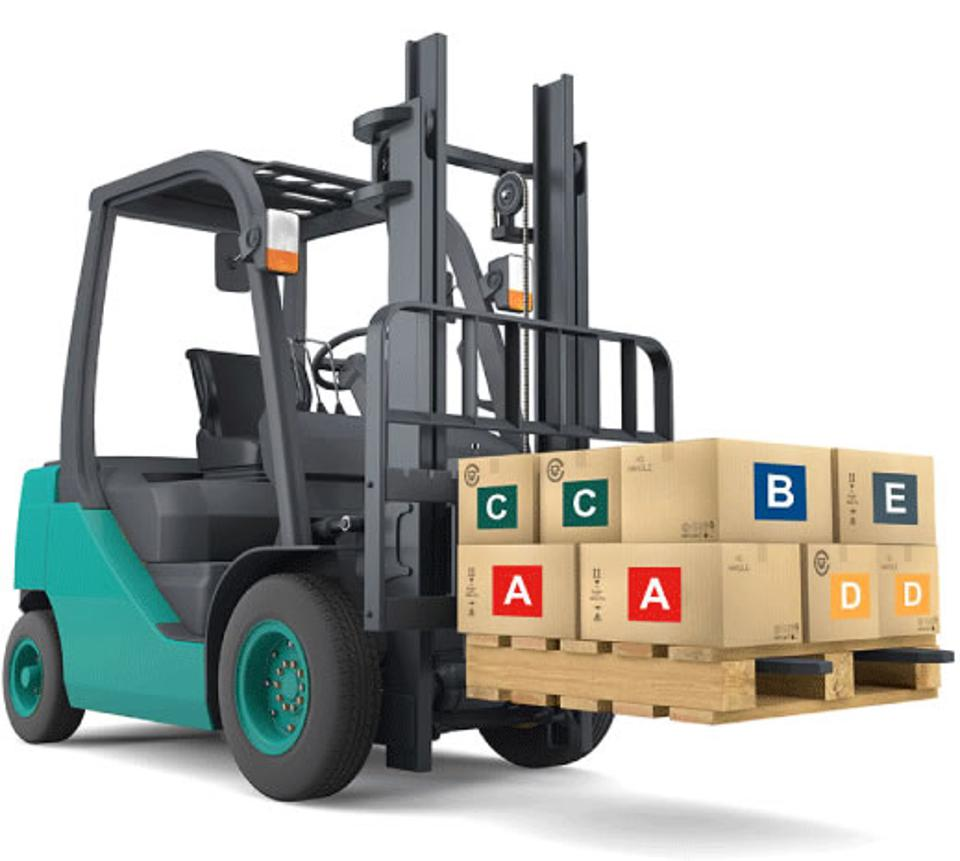 Picture of a forklift