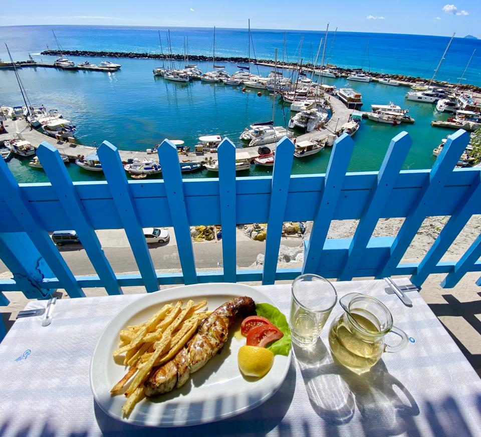 Psaraka Restaurant, Santorini